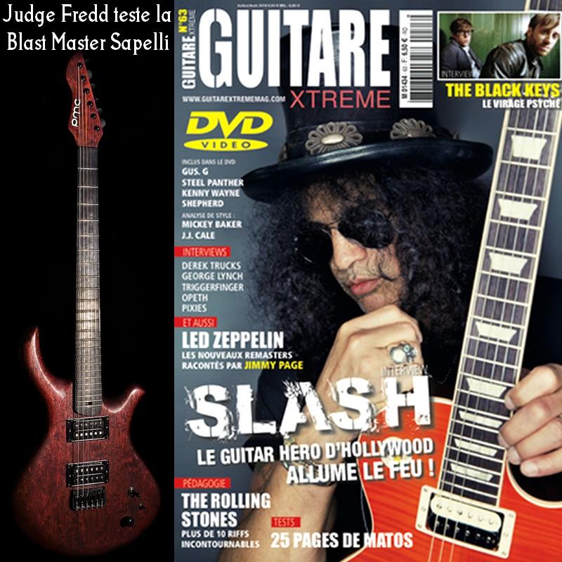 [LUTHIER] PMC Guitares - Guitares de luthier : Salon de Montrouge du 27 au 29 mars - Page 4 Pmc-guitars-blast-master-875385