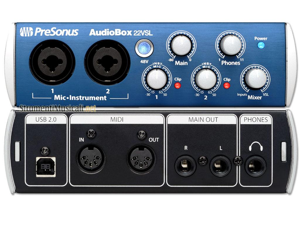 Announcement New Audiobox USB Audiobox VSL driver