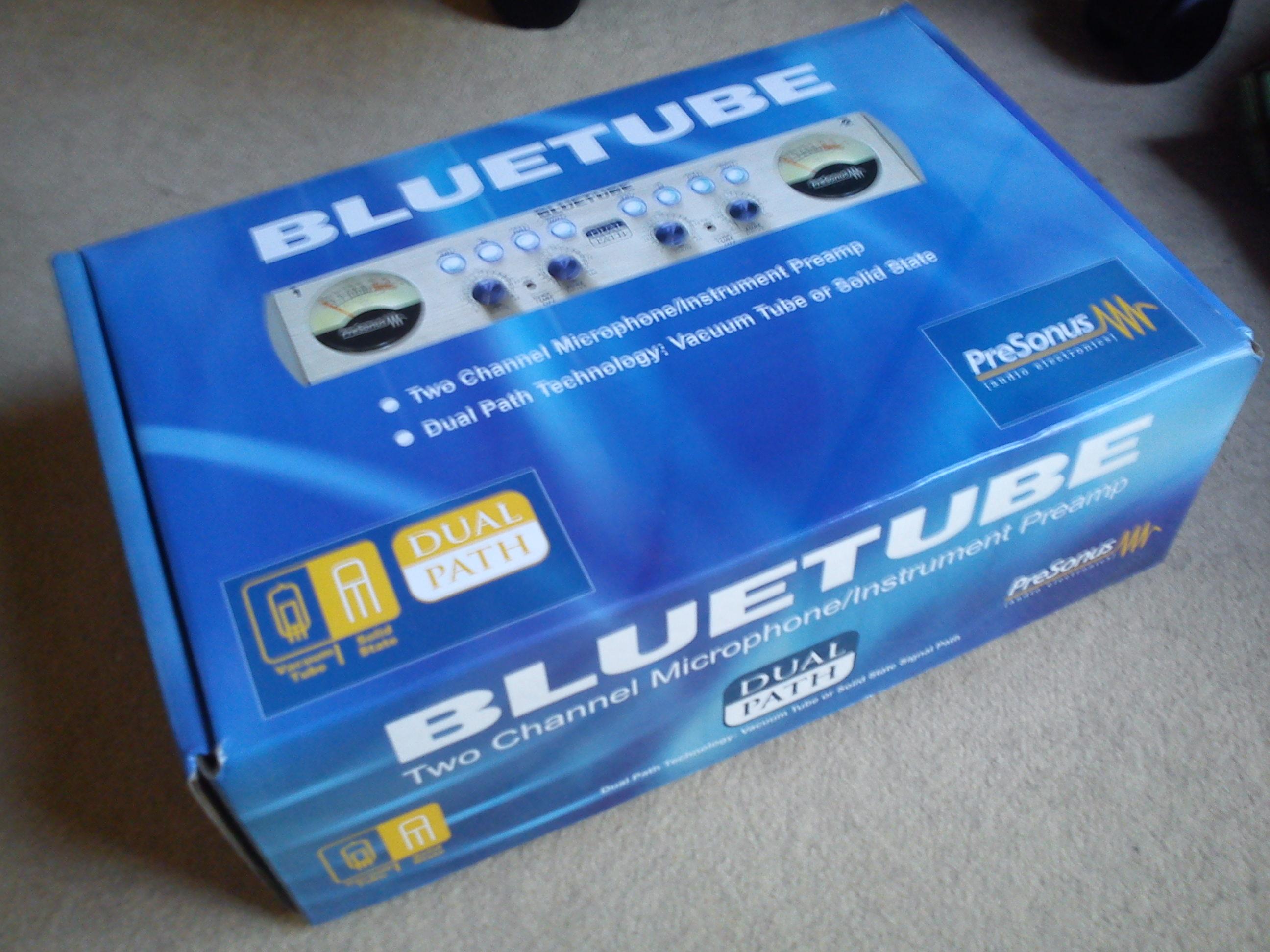 Blue Tube 8