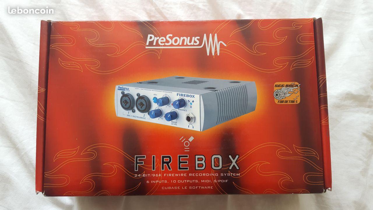 PreSonus FireBox MalonePolygon Images