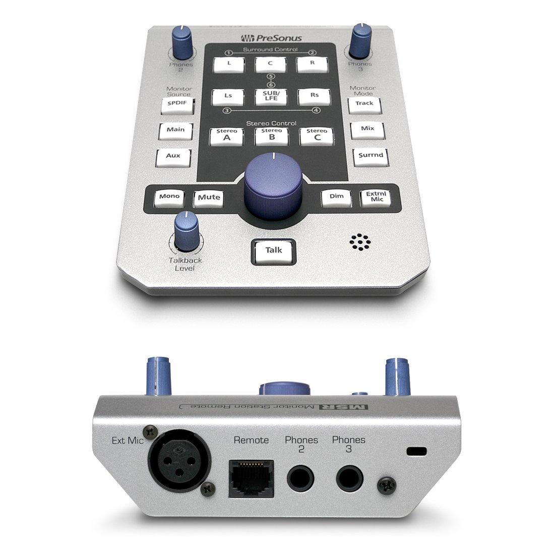 presonus msr monitor station remote image 733794 audiofanzine. Black Bedroom Furniture Sets. Home Design Ideas