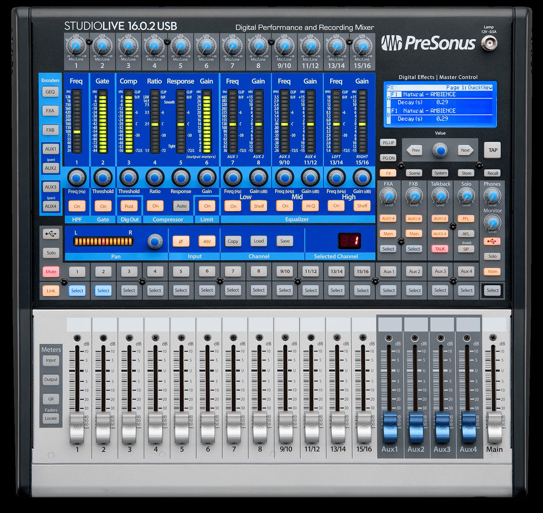 presonus studiolive 16 0 2 usb image 1838536 audiofanzine rh en audiofanzine com StudioLive with External Pre Amp PreSonus 16.0.2