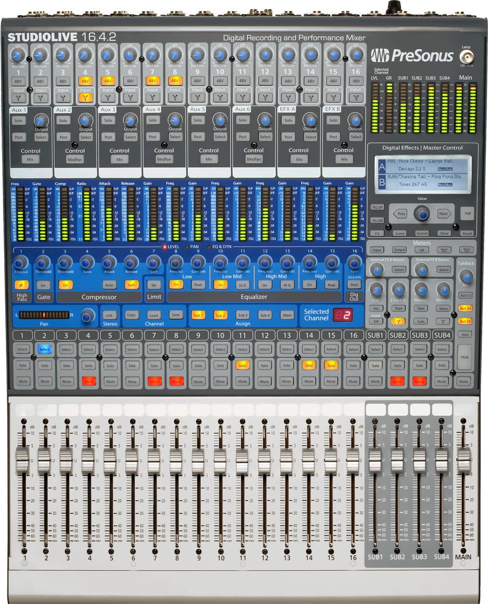 presonus studiolive 16 4 2 image 615332 audiofanzine rh en audiofanzine com PreSonus StudioLive 16.0.2 Case StudioLive Mixdown On