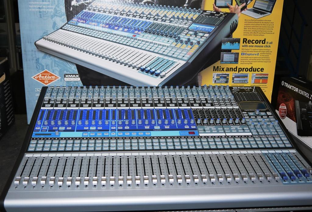 presonus studiolive 32.4 2ai digital mixer manual