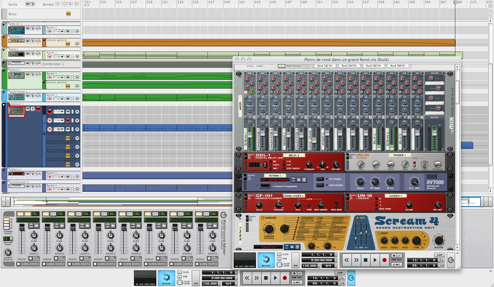 Reason 4, Electronic Music Sequencer from PropellerHead in the Reason ...