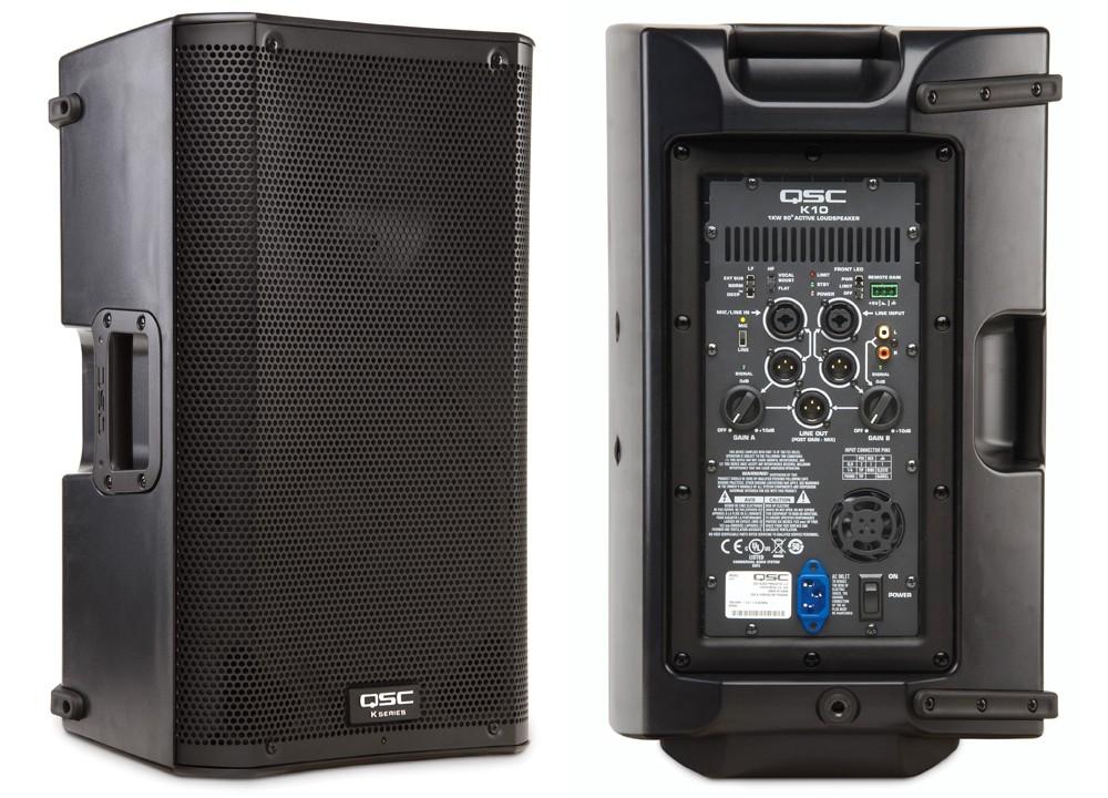 Qsc Yamaha Mixer