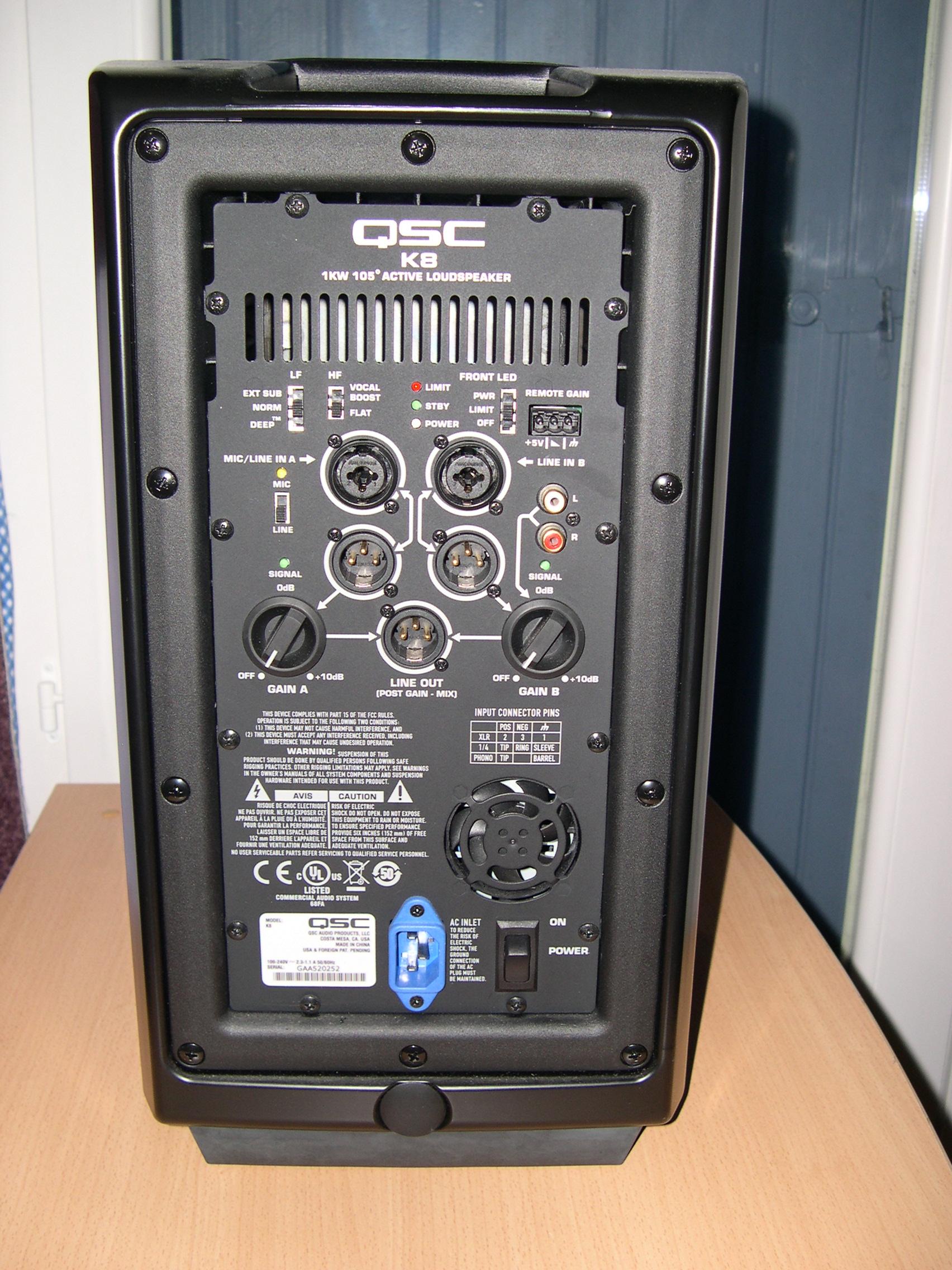 Qsc K8 Image 503222 Audiofanzine