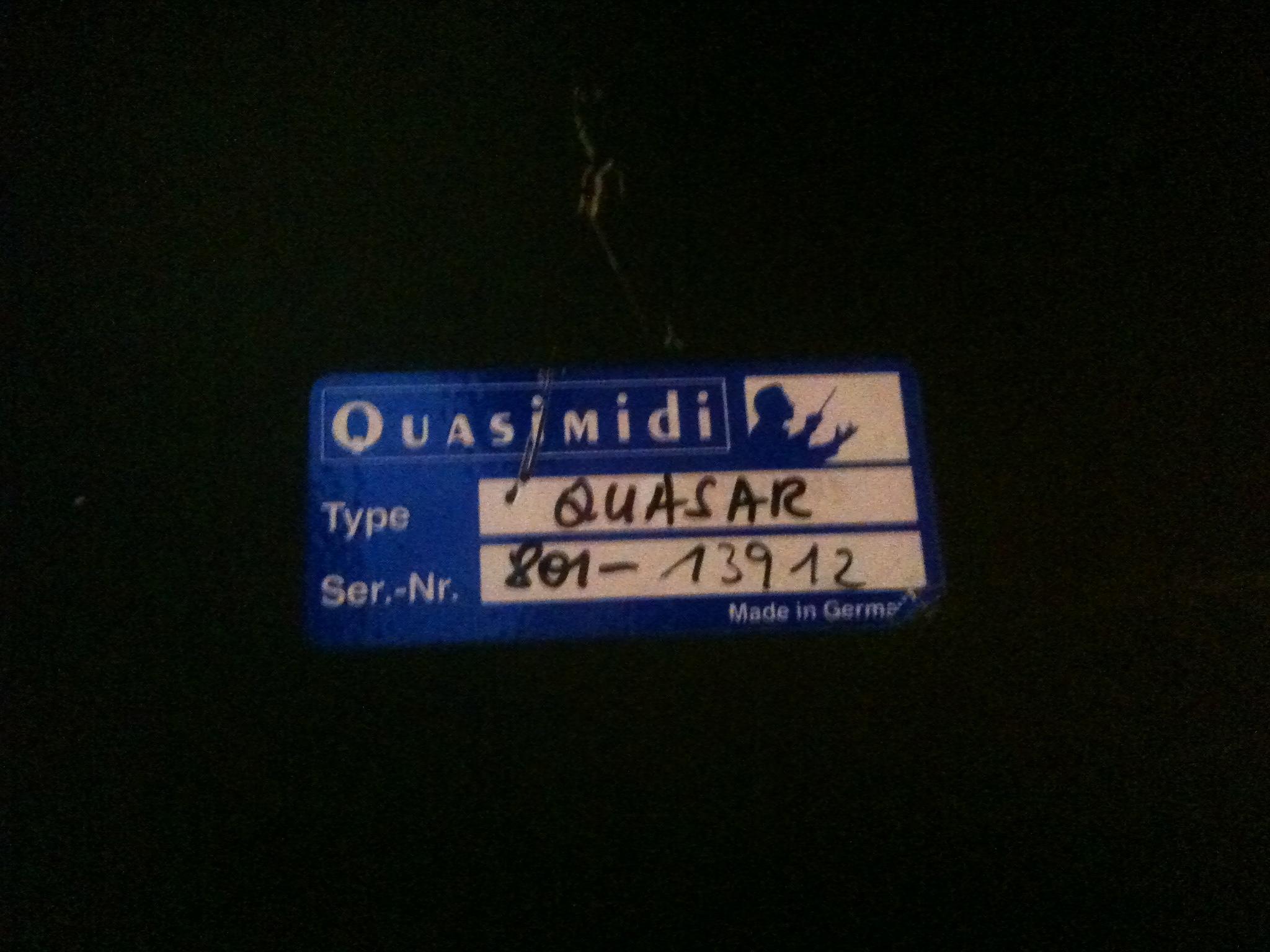 quasimidi quasar