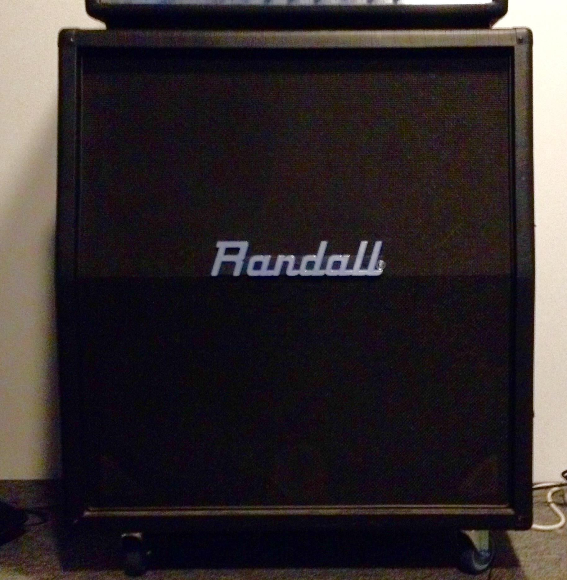 Randall 4x12 Cabinet image (#1495436) - Audiofanzine