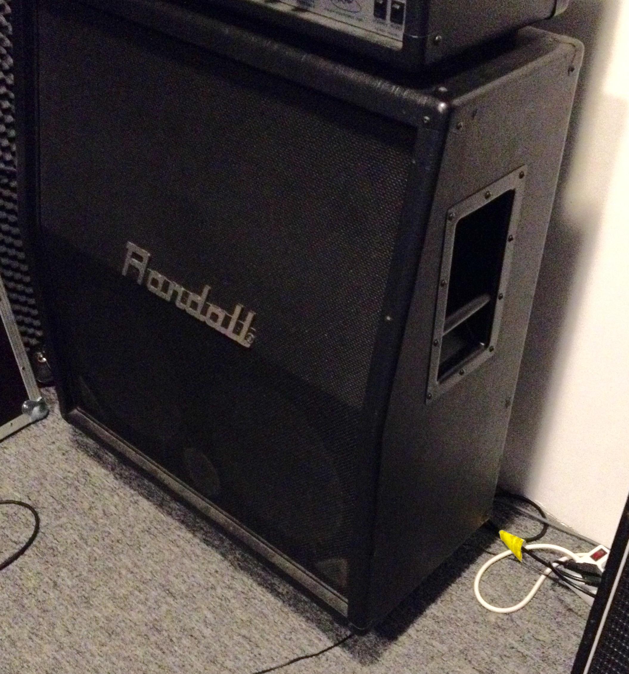 Randall 4x12 Cabinet image (#1495438) - Audiofanzine