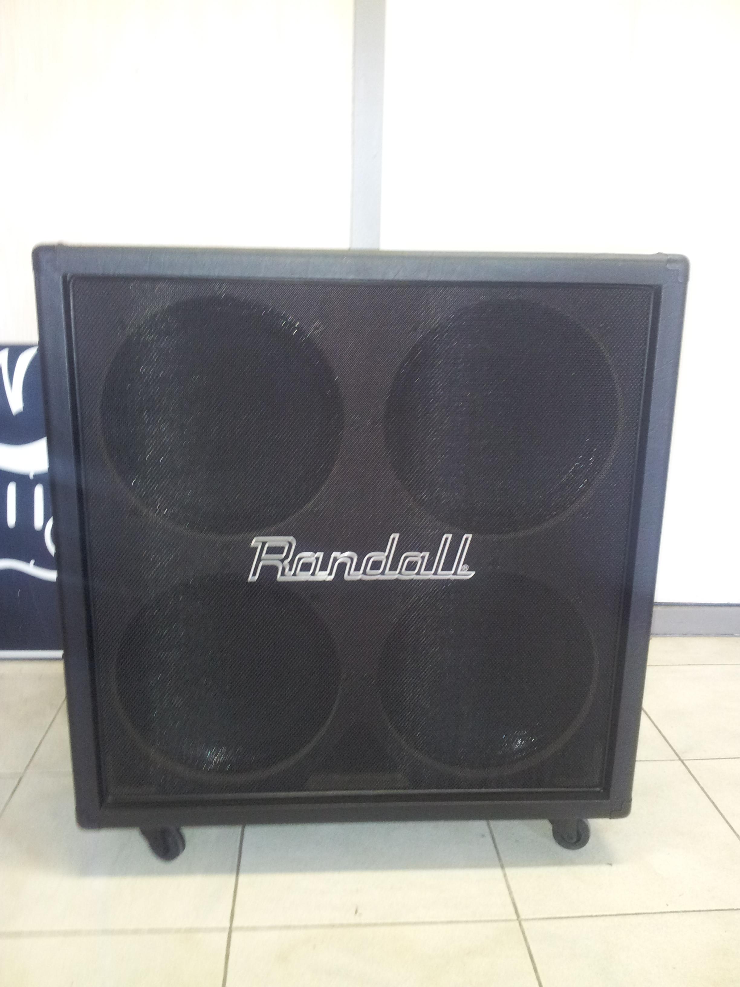 Randall 4x12 Cabinet image (#979502) - Audiofanzine