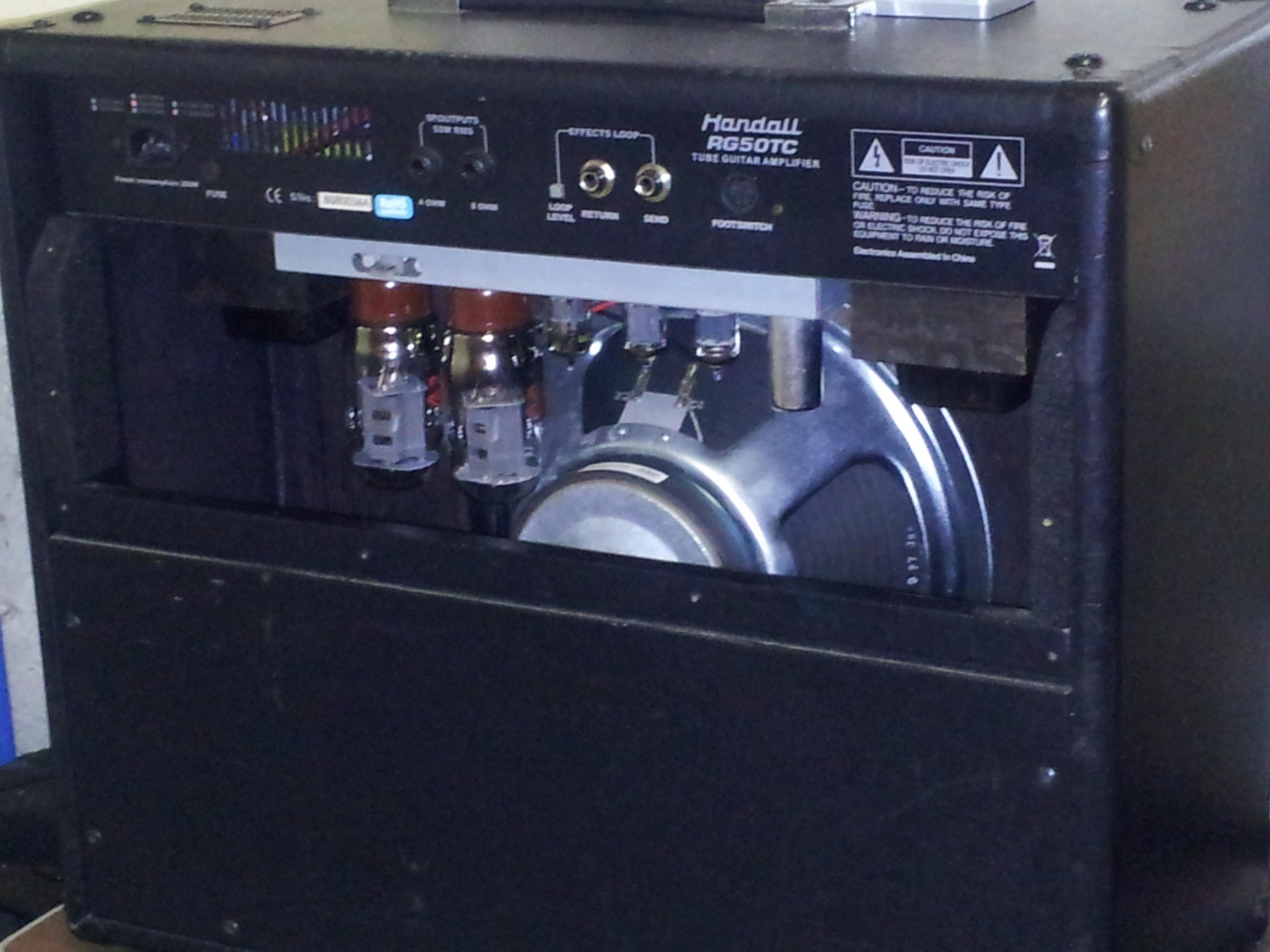 randall rg50tc image 703210 audiofanzine rh en audiofanzine com Randall Tube Combo Amp Randall RG 8.0 Review