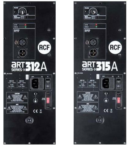 RCF modifie ses enceintes ART-312 et 315 - Audiofanzine