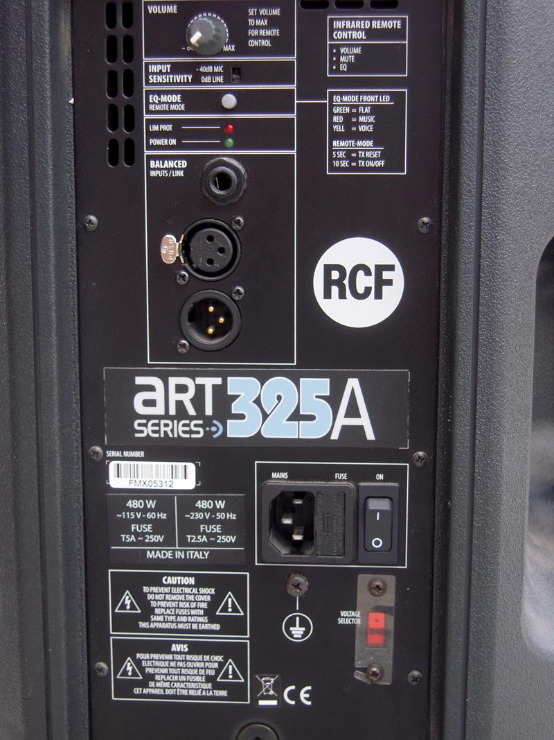 Rcf Art 325 A Image 418076 Audiofanzine