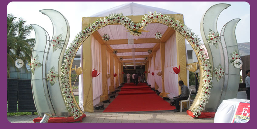 Indian Wedding Hall Entrance Decoration 5PNG