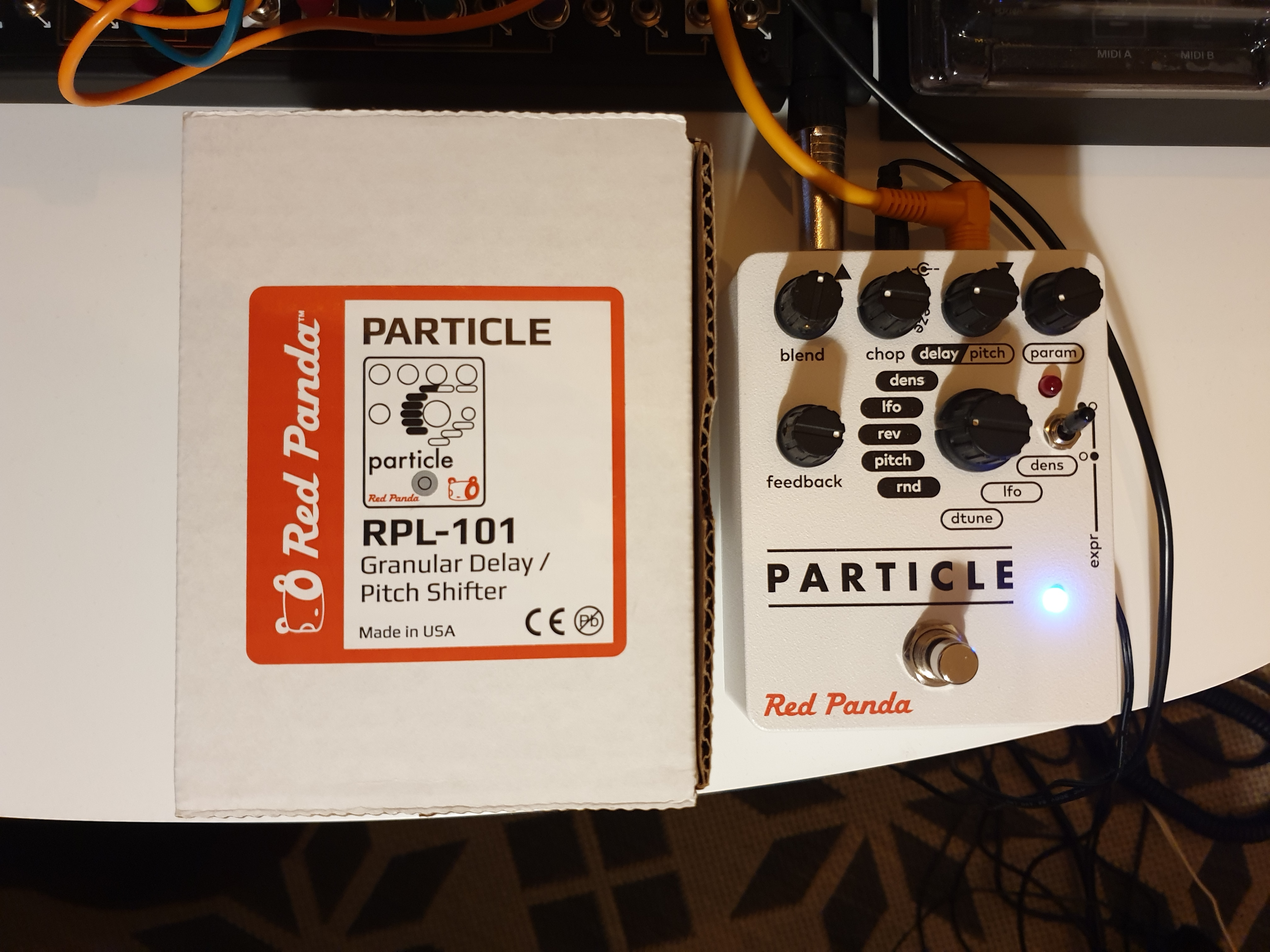Particle granular delay pitch shifter t