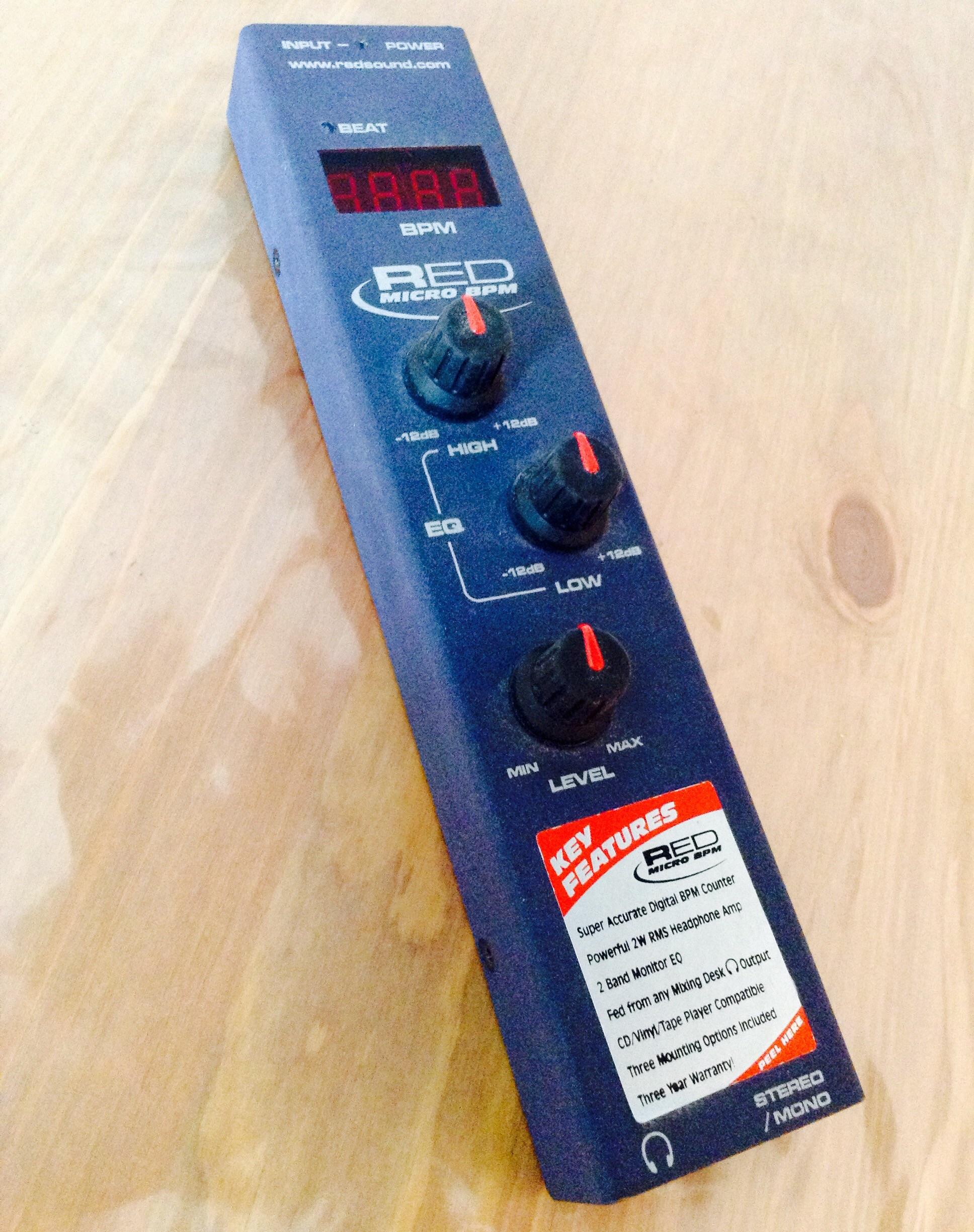 RED Micro BPM Headphone Amp