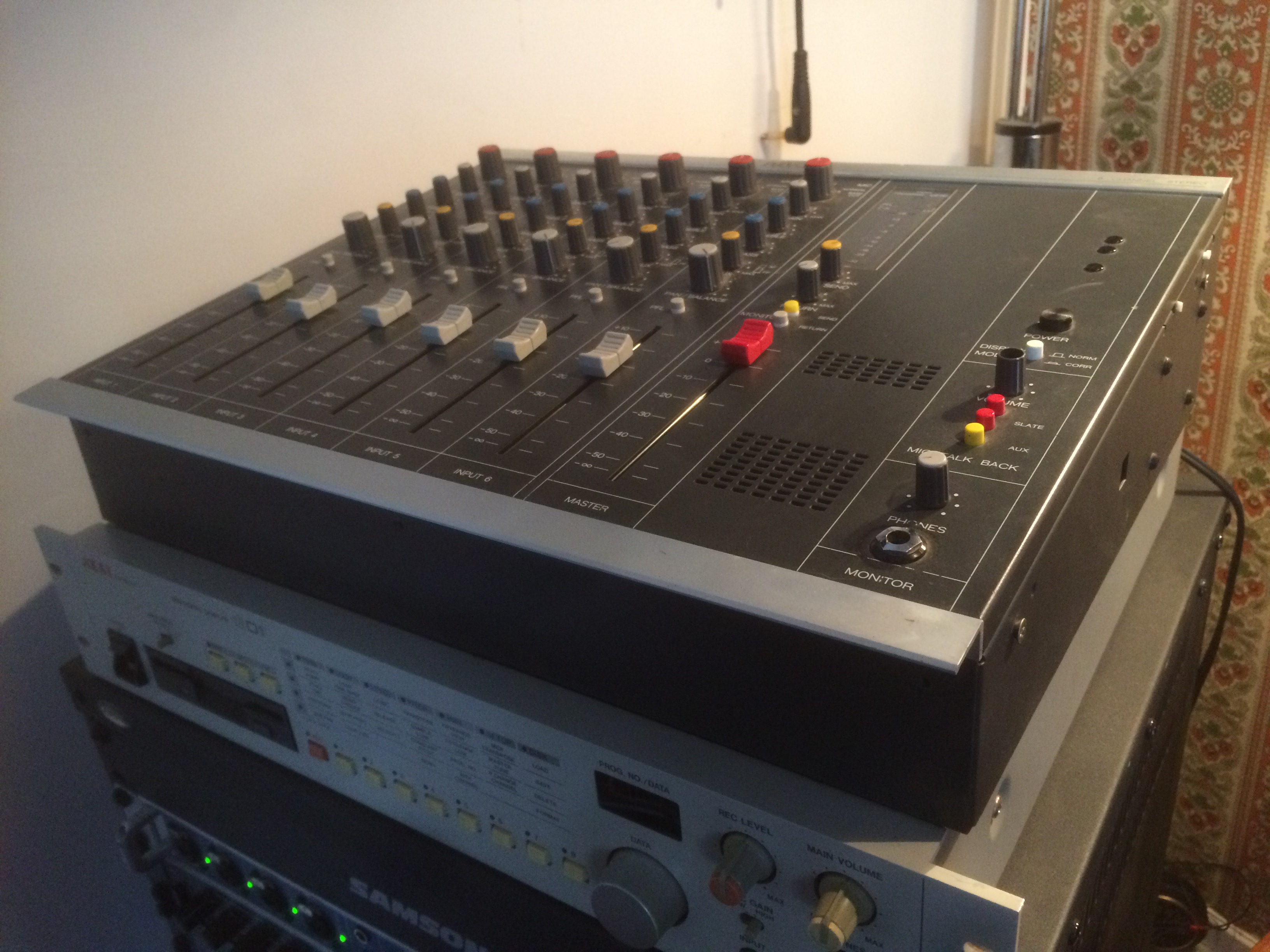 Photo revox c279 revox c279 23593 1612561 audiofanzine - Console analogique occasion ...