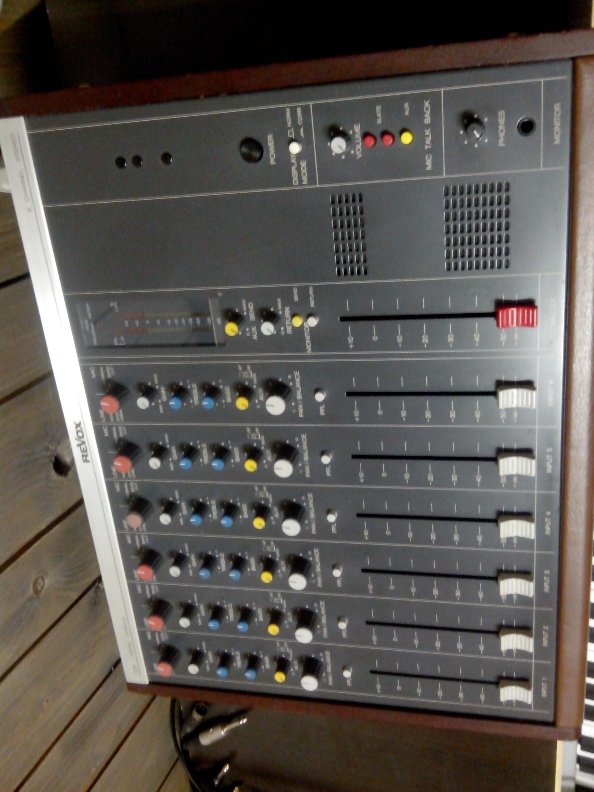 Photo revox c279 revox c279 96309 1772030 audiofanzine - Console analogique occasion ...