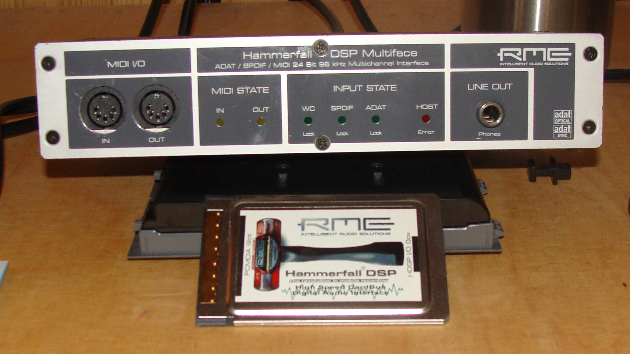 Drivers for RME HDSP / Sound for Windows 8