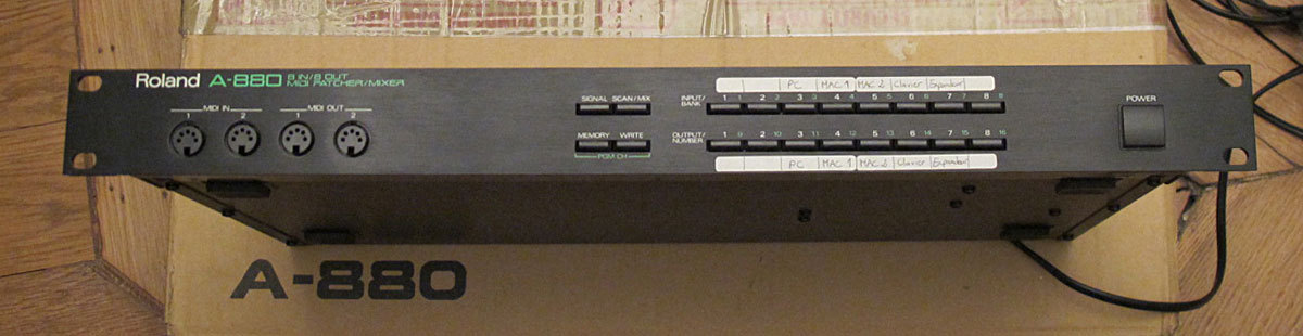 roland a 880 image 144725 audiofanzine rh en audiofanzine com roland a-880 manual roland a-880 manual