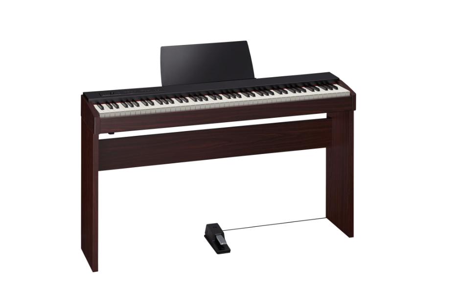 Piano roland f20 dw avec meuble ksc 68 dw aquitaine for Garde meuble piano