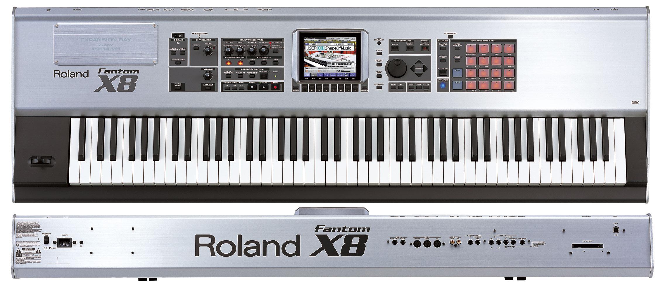 Roland fantom X8 Tanıtım