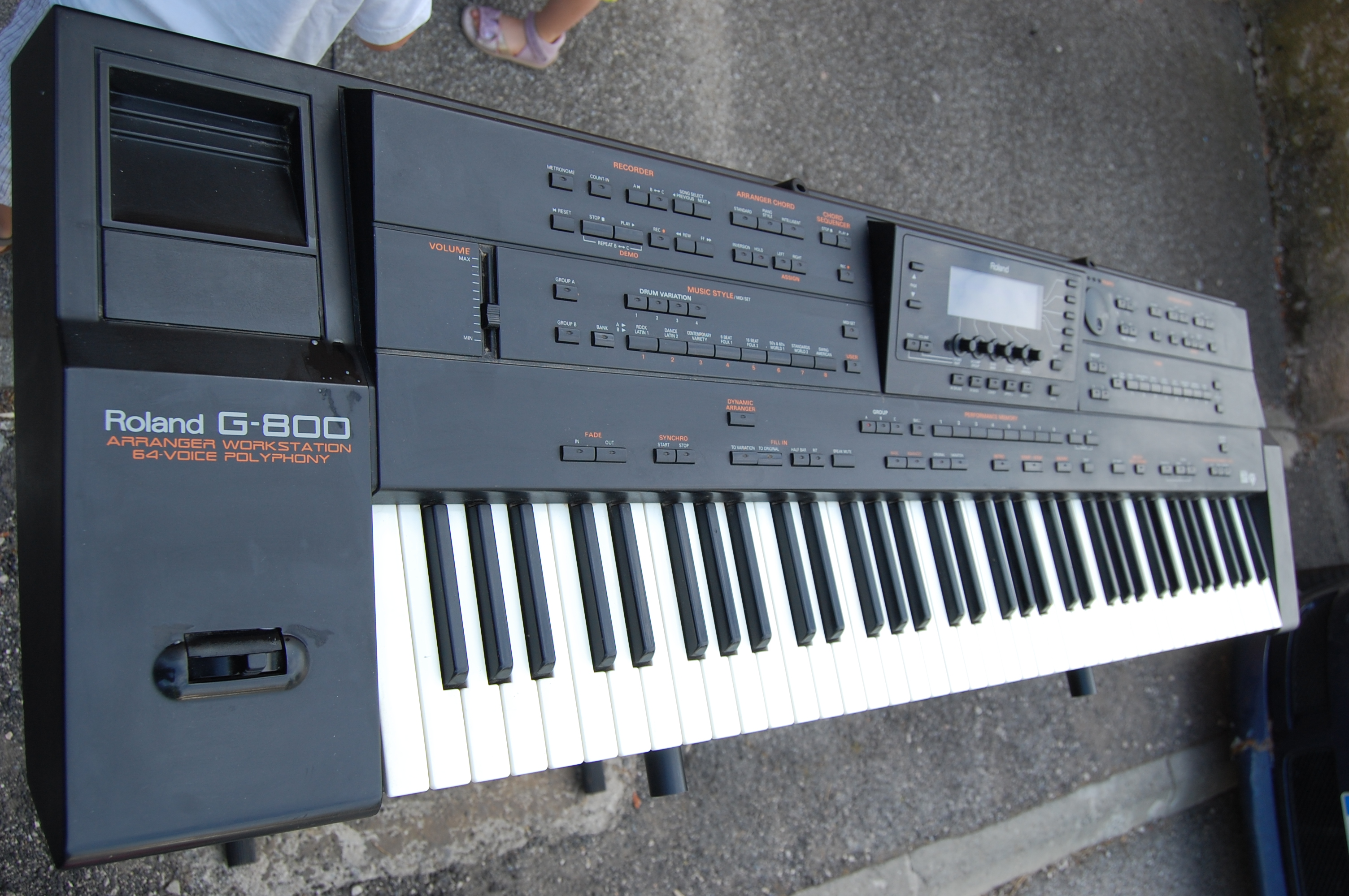 Roland A-800 PRO Keyboard Controller with 61-Keys and 8 ...