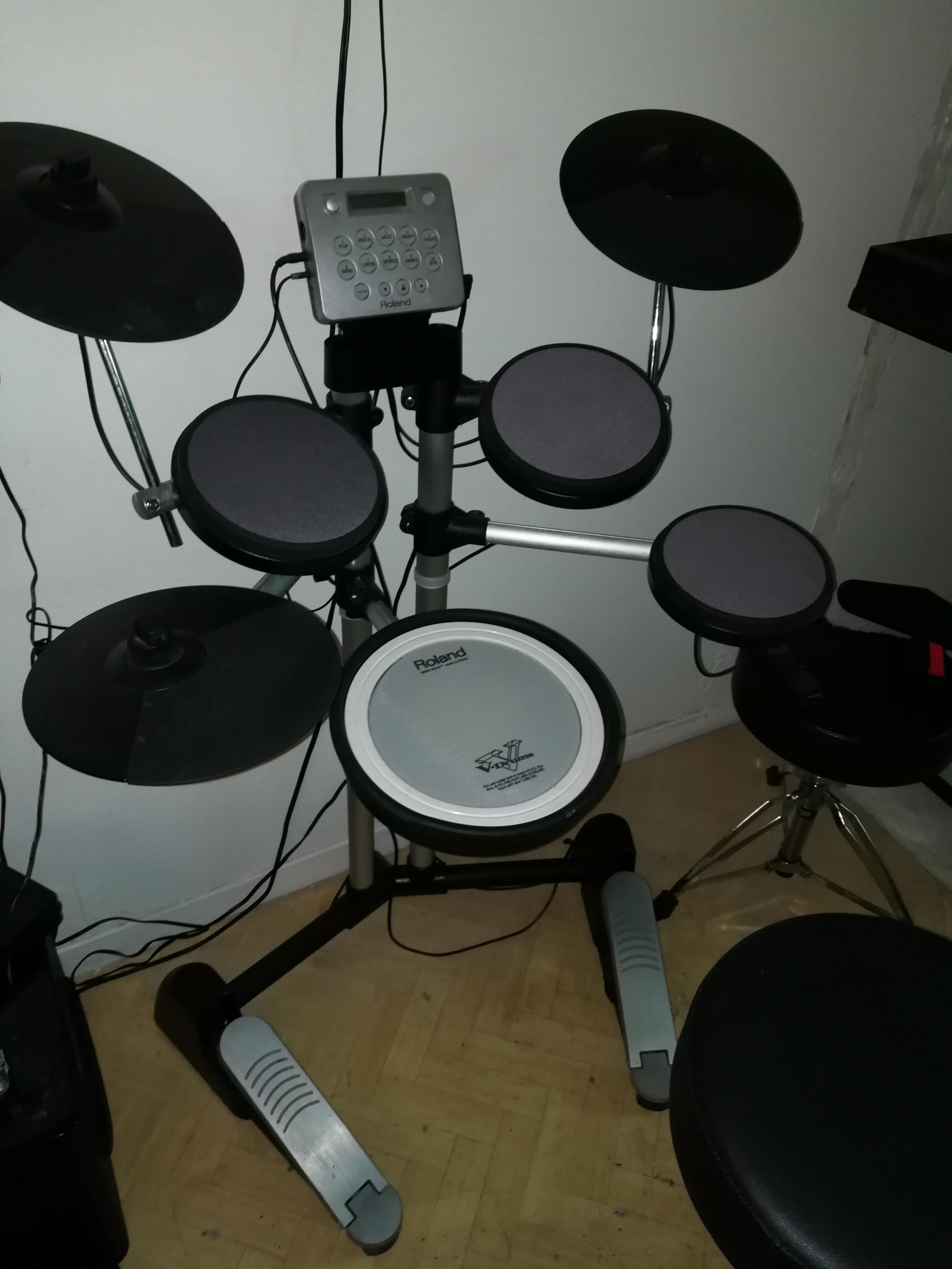 Roland hd 3 image 1851153 audiofanzine - Roland hd3 v drum lite set ...