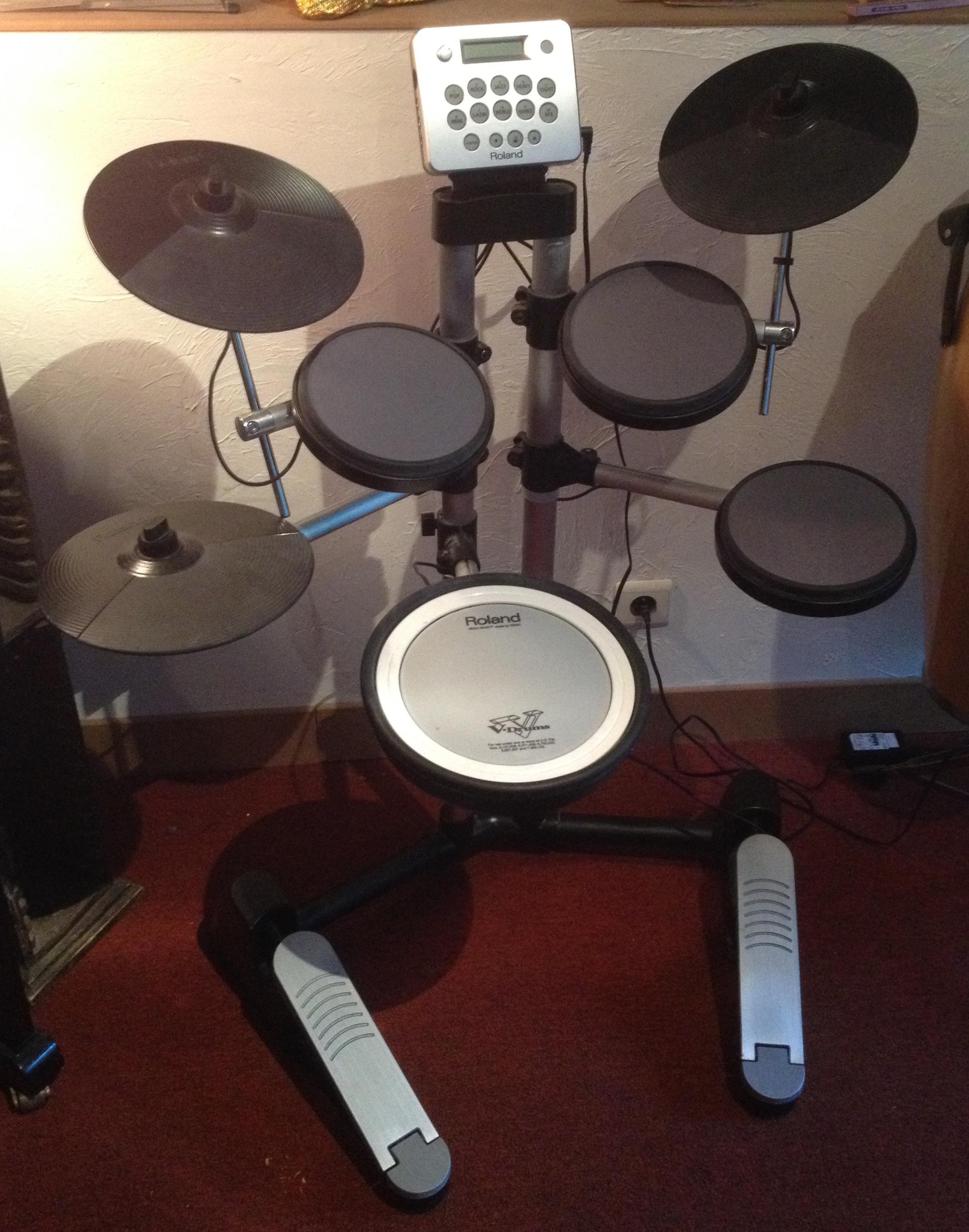 Roland hd 3 image 2030408 audiofanzine - Roland hd3 v drum lite set ...