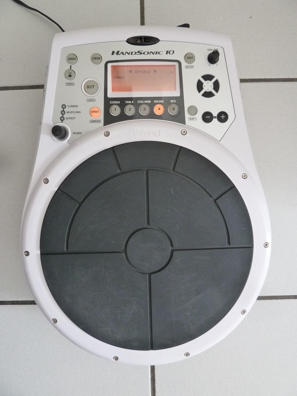 HPD-10 HANDSONIC - Roland HPD-10 Handsonic - Audiofanzine 06296cf719d1