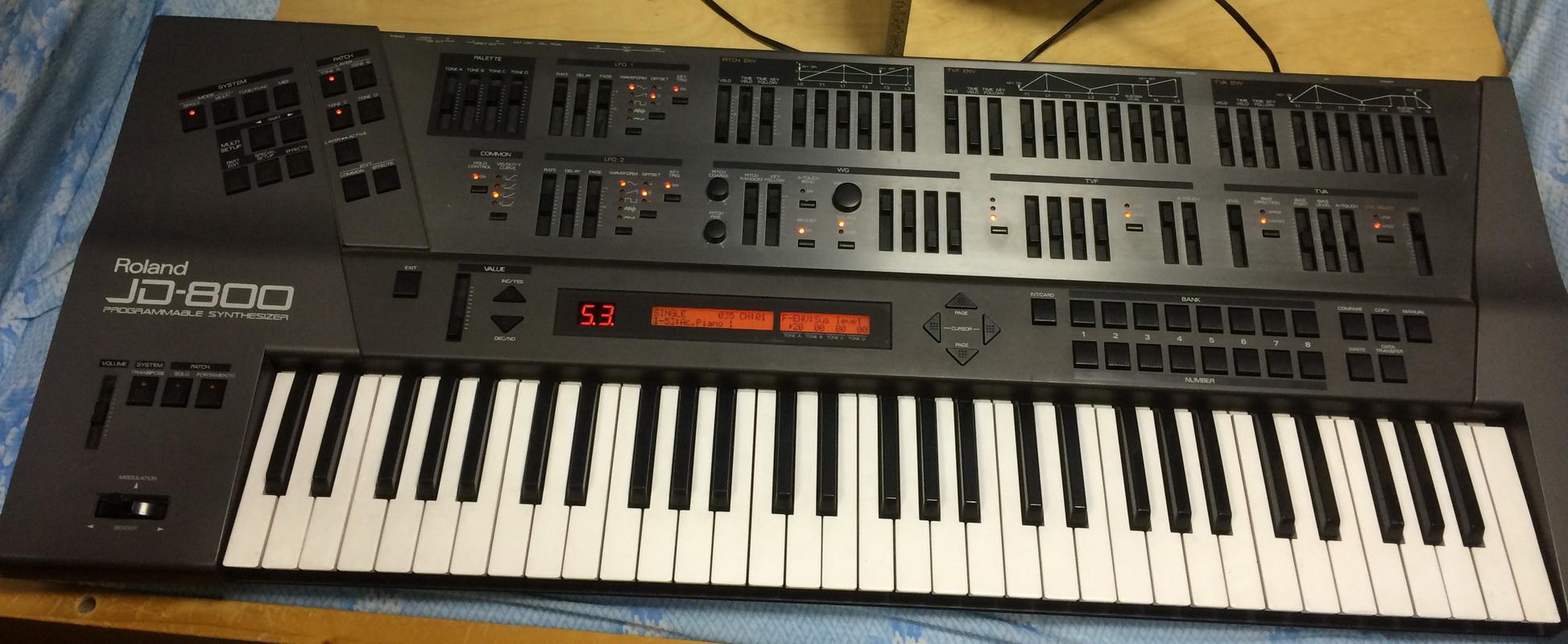 JD-800 - Roland JD-800 - Audiofanzine