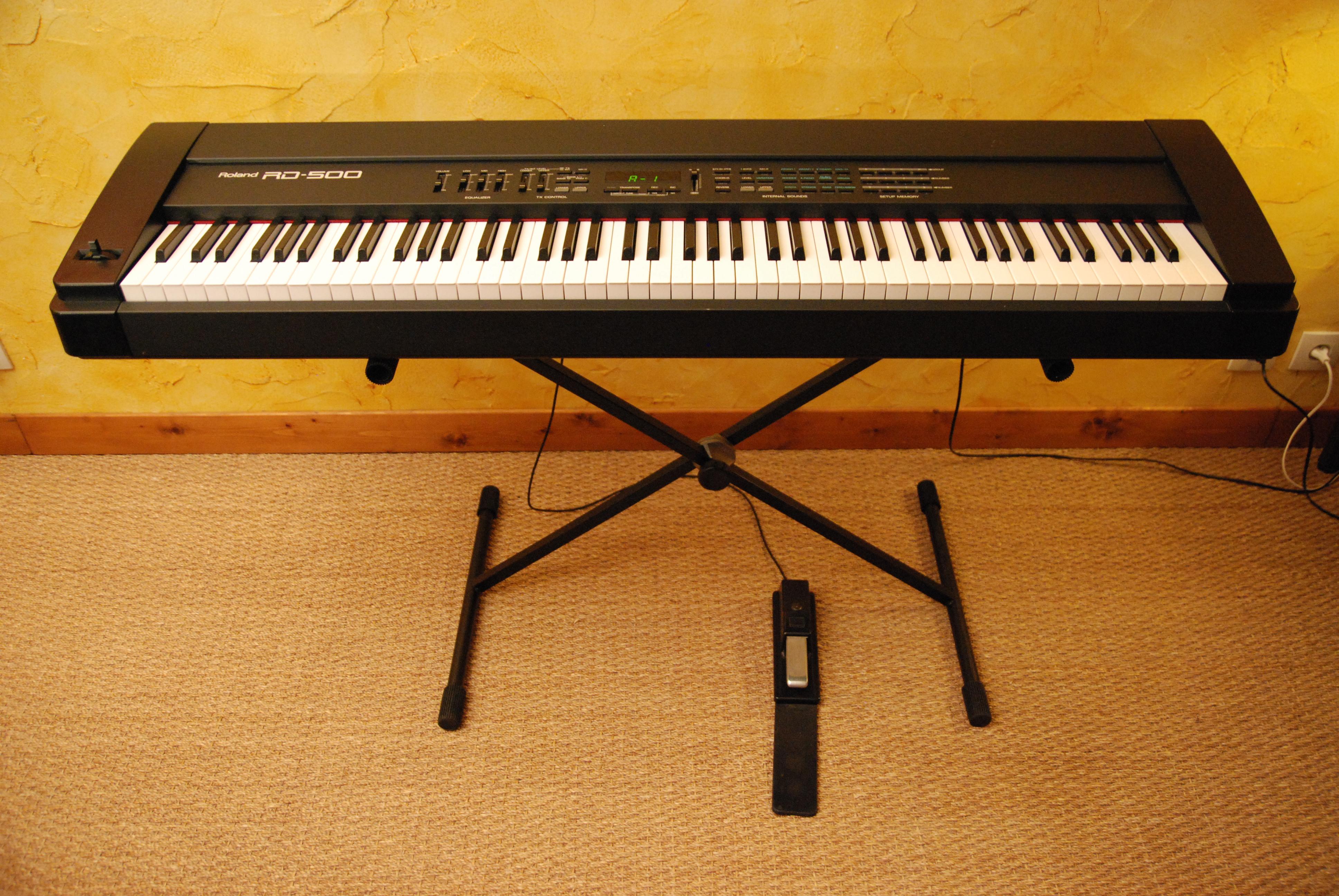 Piano Digital Roland Rd 500 : roland rd 500 image 349562 audiofanzine ~ Vivirlamusica.com Haus und Dekorationen