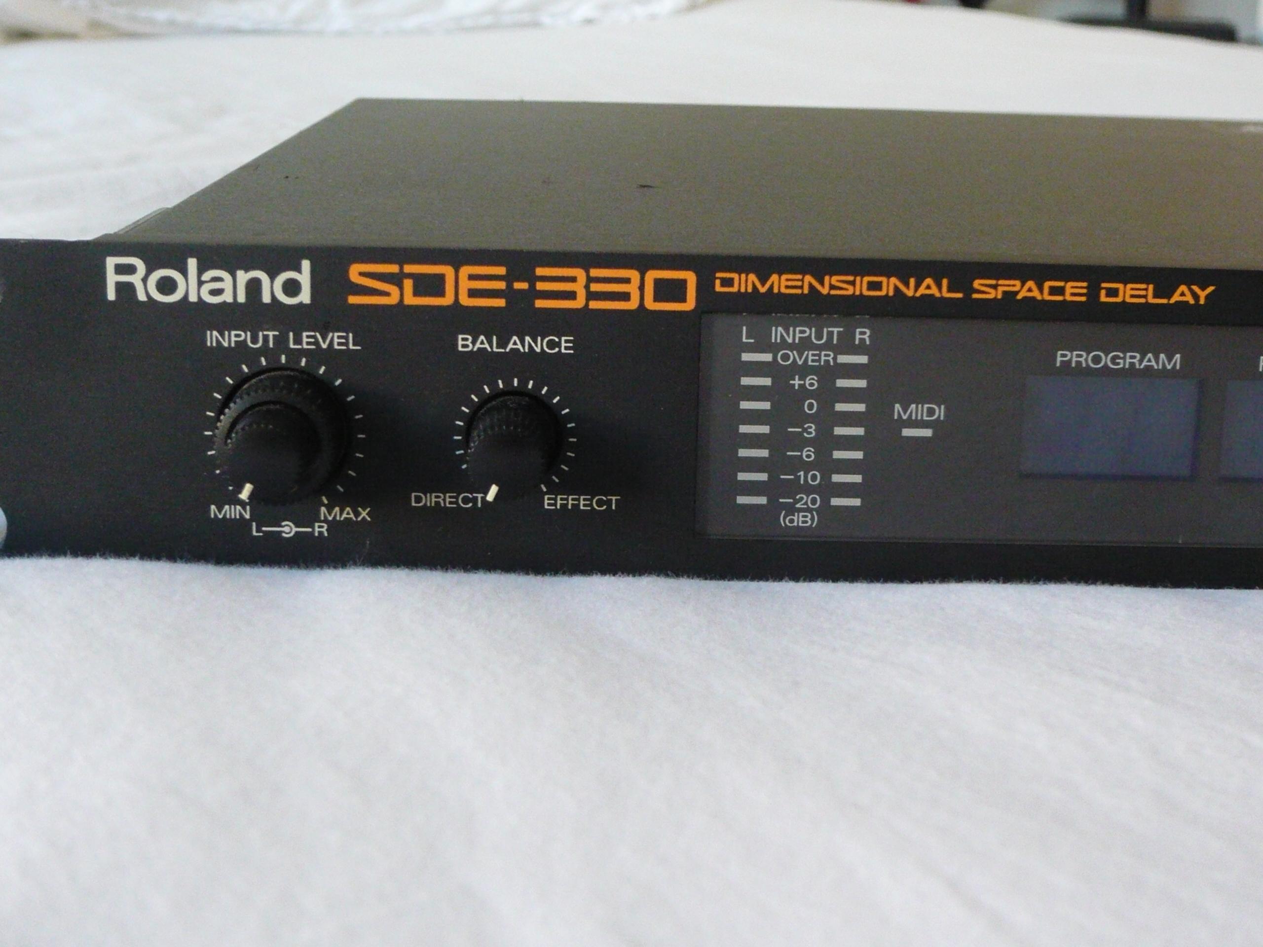 roland sde 330 image 931827 audiofanzine rh en audiofanzine com Roland BA-330 Review roland sdx 330 manual