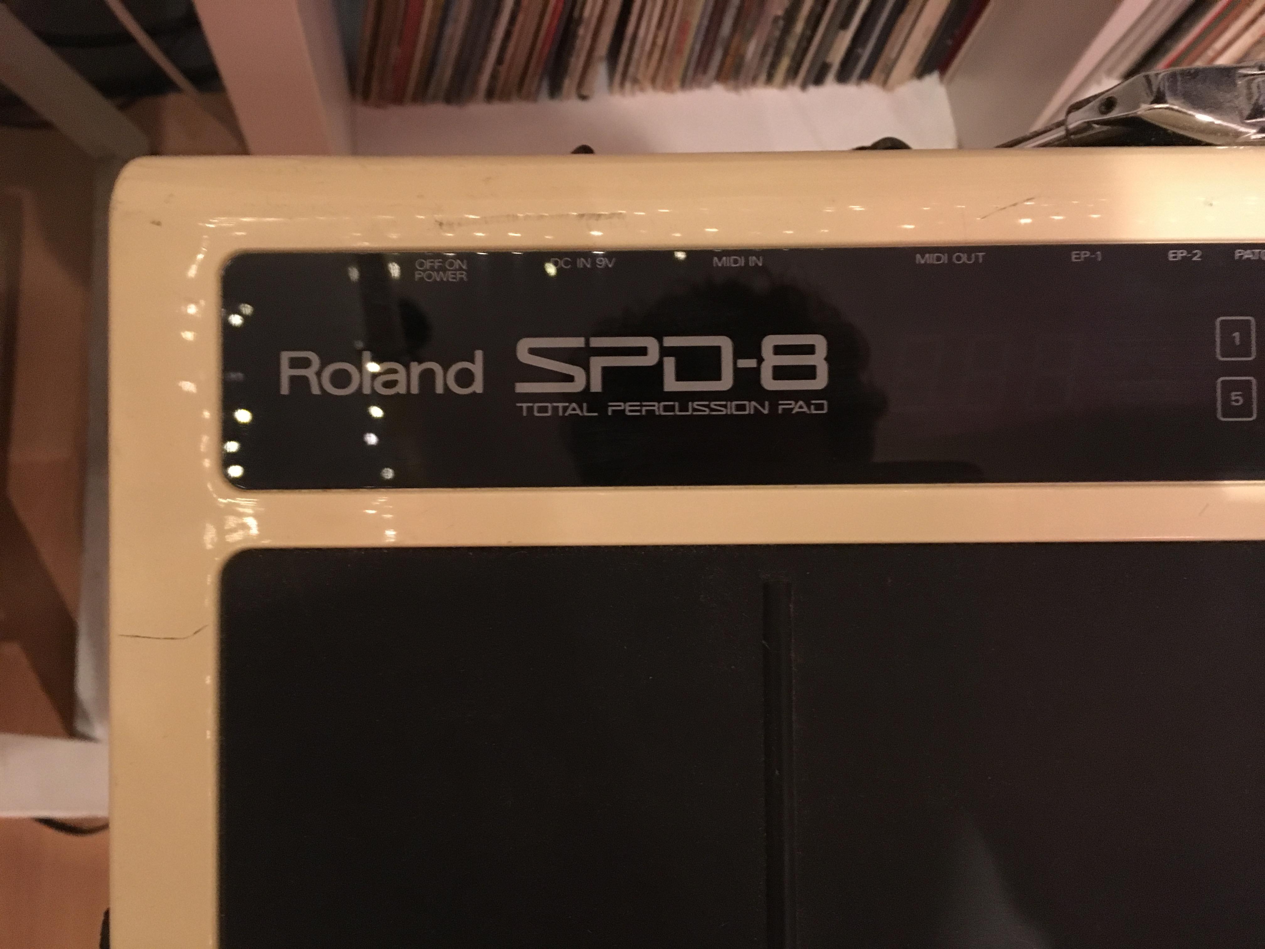 Verwonderlijk SPD-8 - Roland SPD-8 - Audiofanzine GQ-67