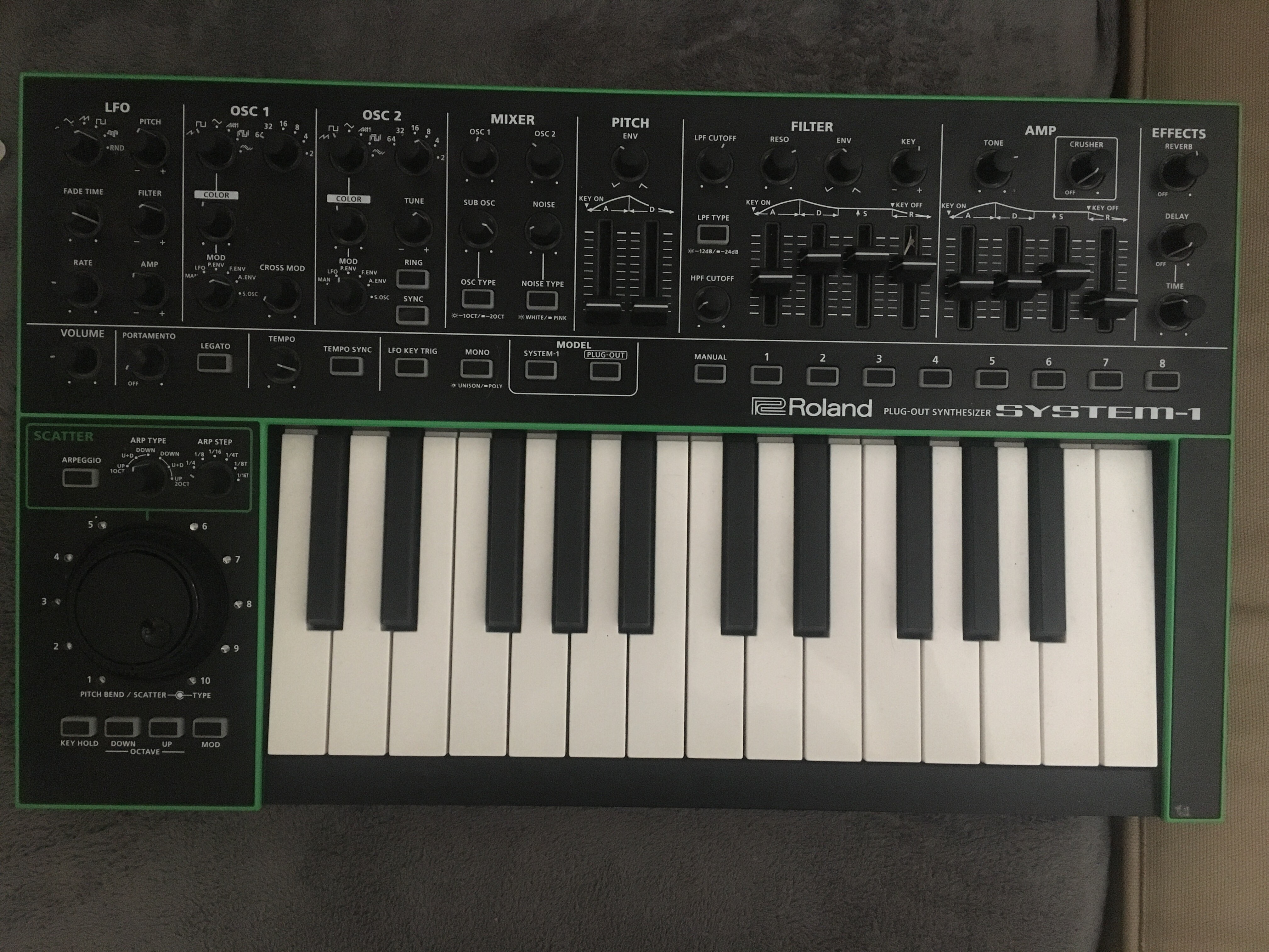 System 1 Roland System 1 Audiofanzine