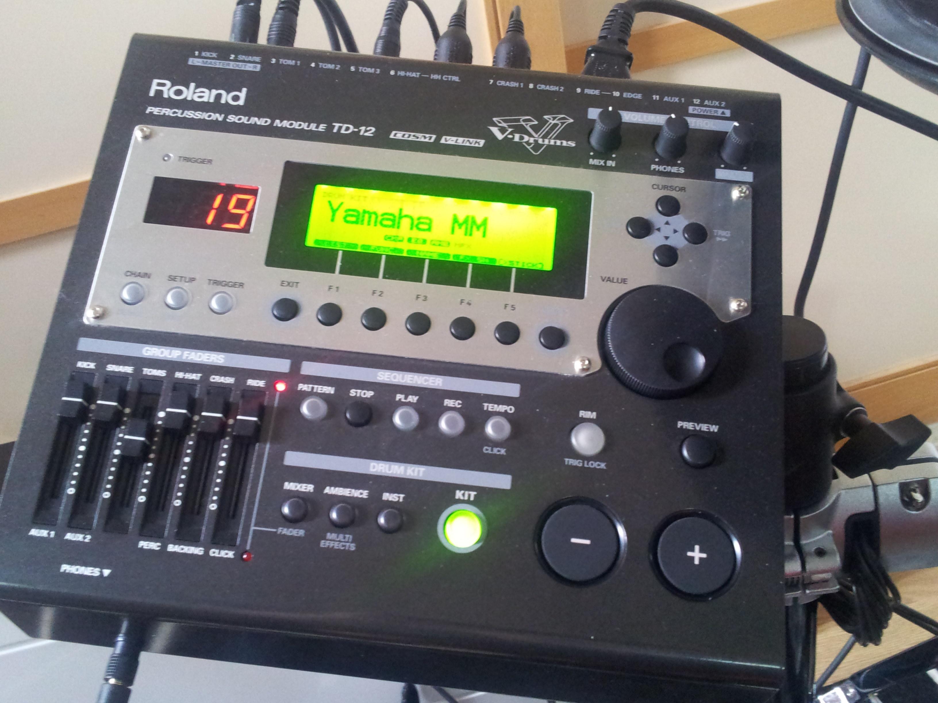 roland td 12 module image 723302 audiofanzine rh en audiofanzine com roland td-12 service manual roland td-12 manual español