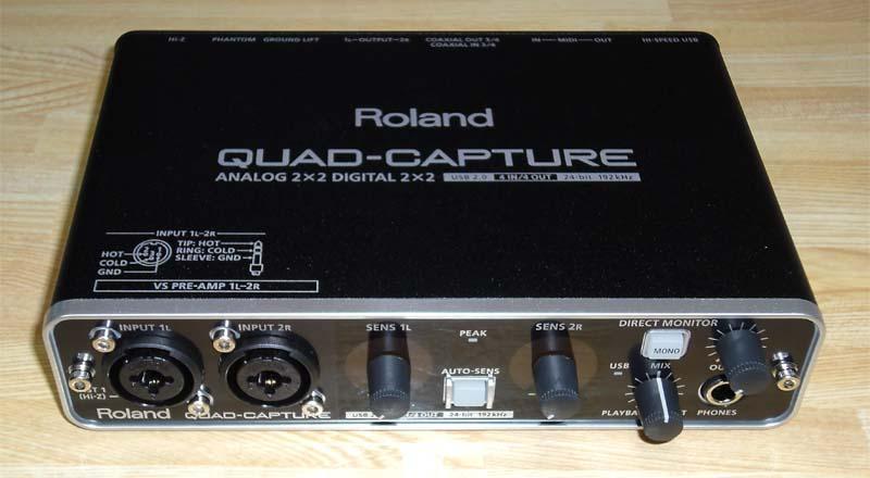 roland ua 55 quad capture image 1176177 audiofanzine. Black Bedroom Furniture Sets. Home Design Ideas
