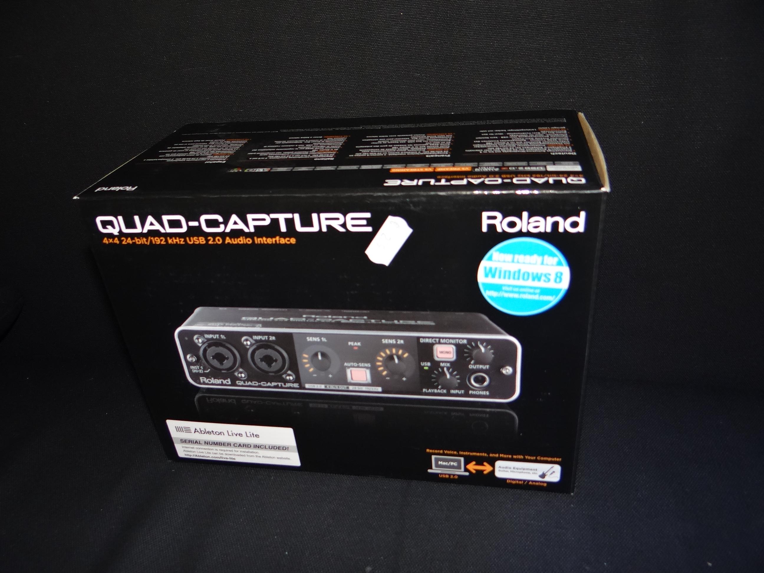 roland ua 55 quad capture image 1675919 audiofanzine. Black Bedroom Furniture Sets. Home Design Ideas