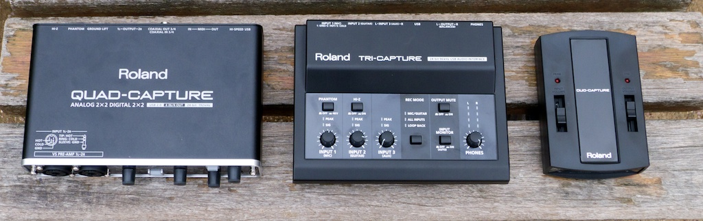 Roland Quad Capture Review : Roland Does the Quad - Audiofanzine