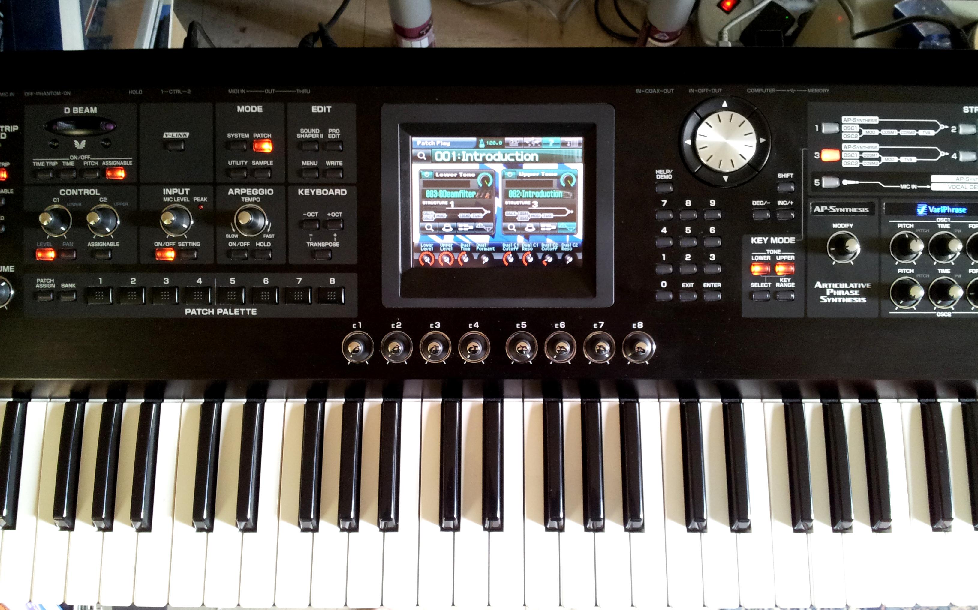 roland v synth gt image 388256 audiofanzine rh en audiofanzine com roland v synth gt service manual Roland X6