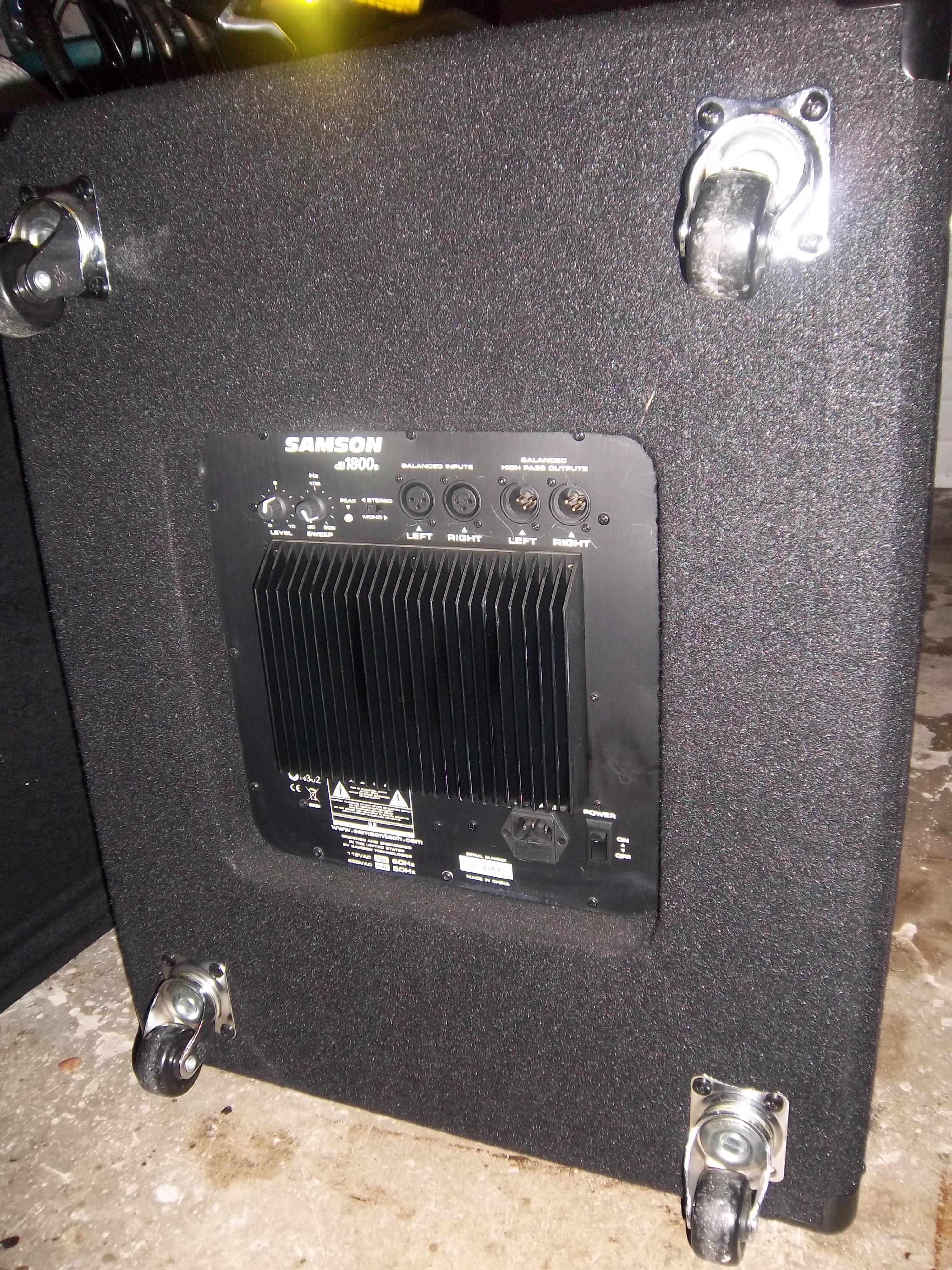 Samson Technologies DB1800a Image