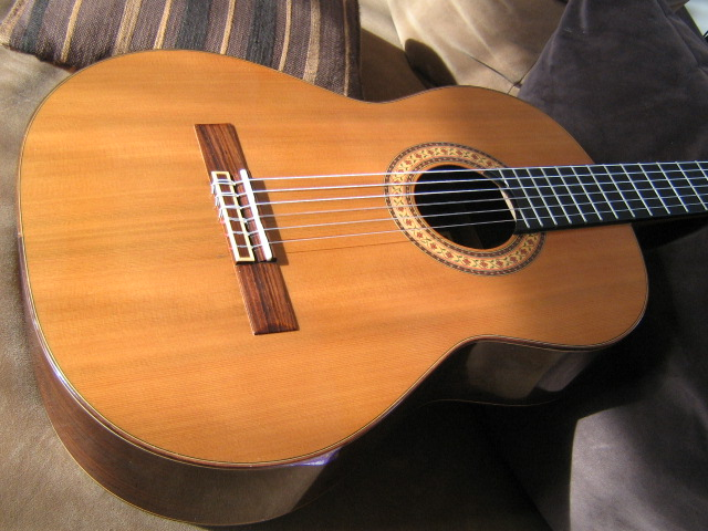 photo sanchez classical guitar sanchez guitare classique 530692 audiofanzine. Black Bedroom Furniture Sets. Home Design Ideas