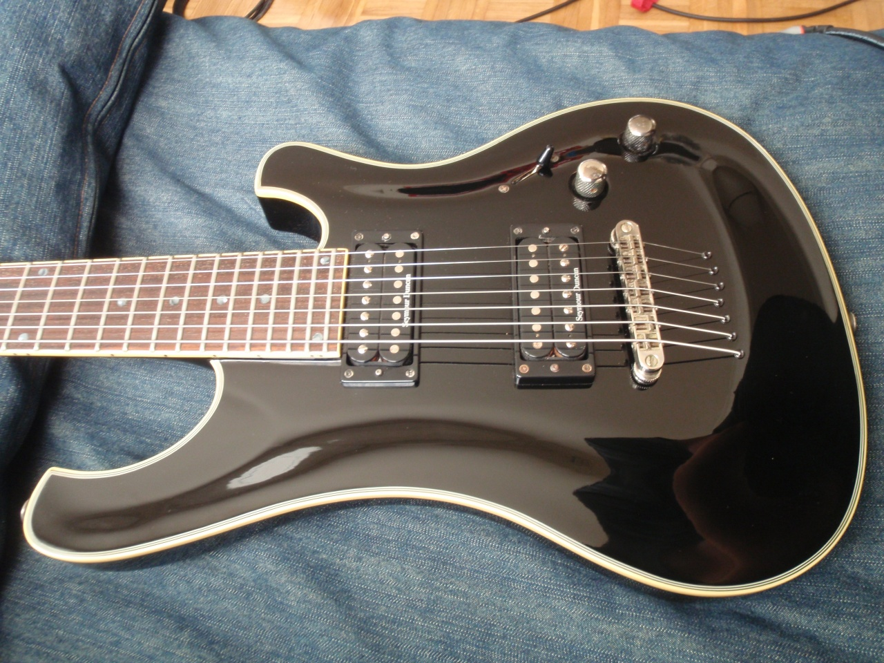 Schecter blackjack baritone review