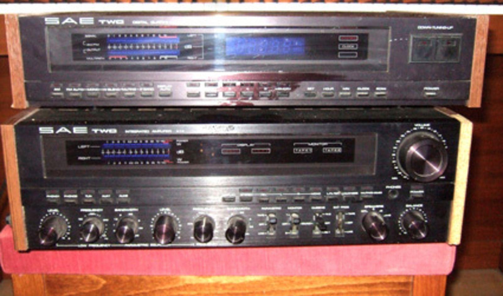 scientific audio electronics ampli sae two a14 image 23156 audiofanzine. Black Bedroom Furniture Sets. Home Design Ideas