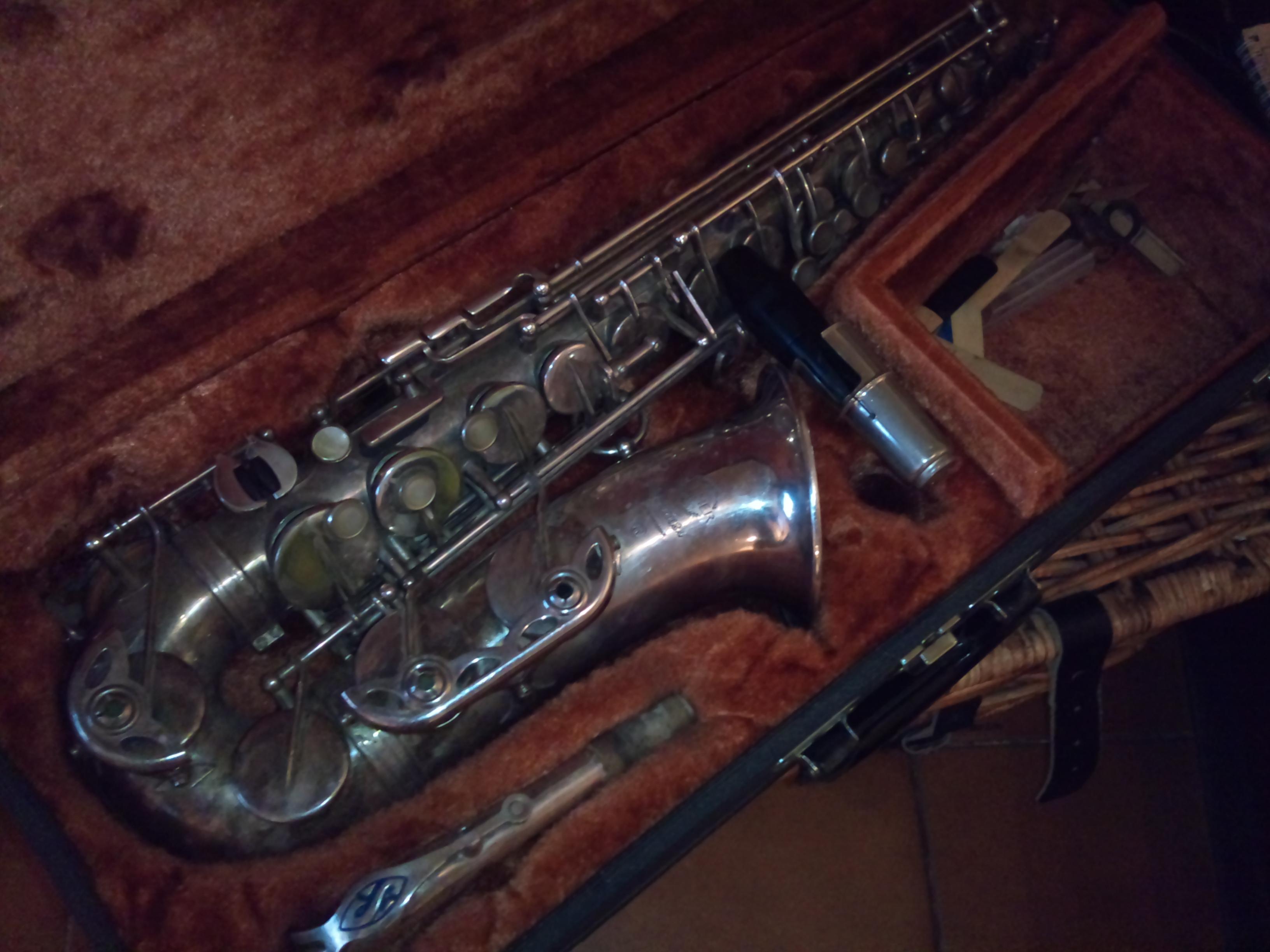 instrument musique saxophone selmer mark vi selmer