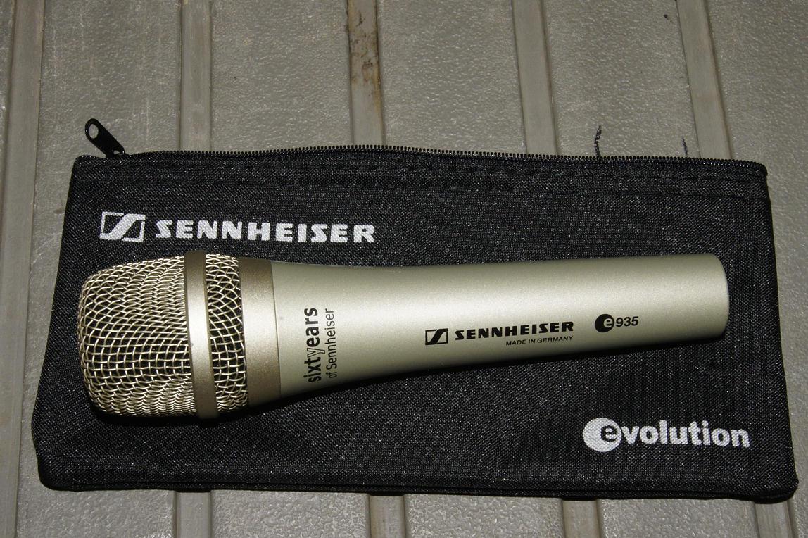 E 935 Silver Sennheiser Audiofanzine E935