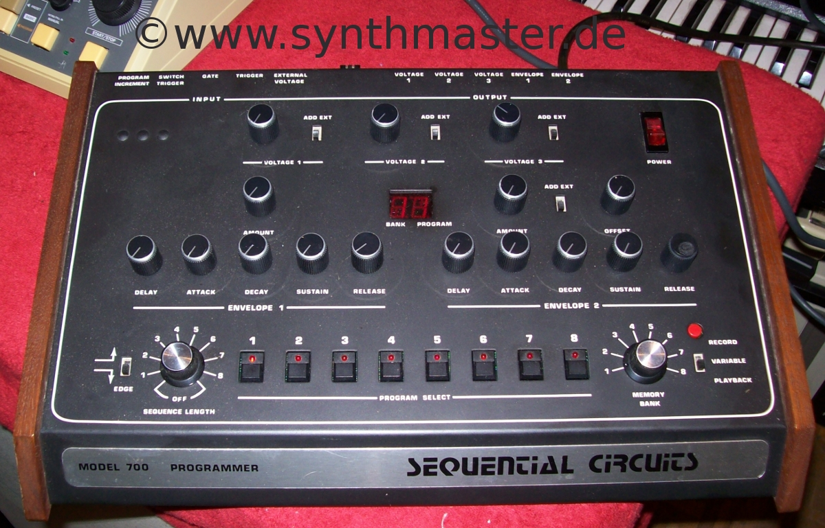 sequential circuits model 800 cv gate sequencer image