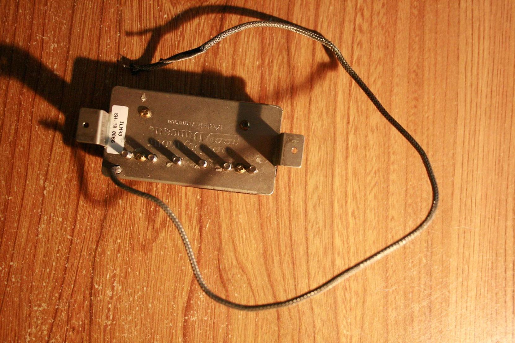 Seymour Duncan SH-1B \'59 Model Bridge - Black image (#144650 ...