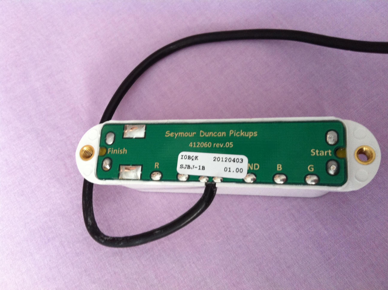 Seymour Duncan SJBJ-1B JB Jr. Bridge image (#450891) - Audiofanzine